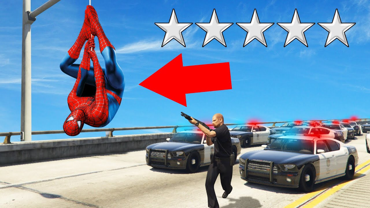 Playing As Spiderman In Gta 5 Mods