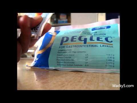 PolyEthylene Glycol For Gastrointestinal Lavage