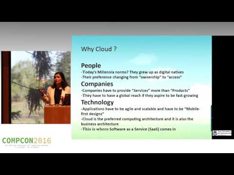 Shubhra Gupta - The sky is not the limit  - when you are on the Cloud