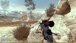 Call of Duty MW2 Afghan - TDM Intervention w/FMJ PC Gameplay