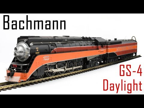 Unboxing the Bachmann GS-4 Daylight Locomotive