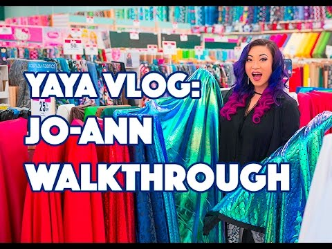 Yaya Han Vlog: Jo-Ann Walkthrough - Cosplay Fabrics!