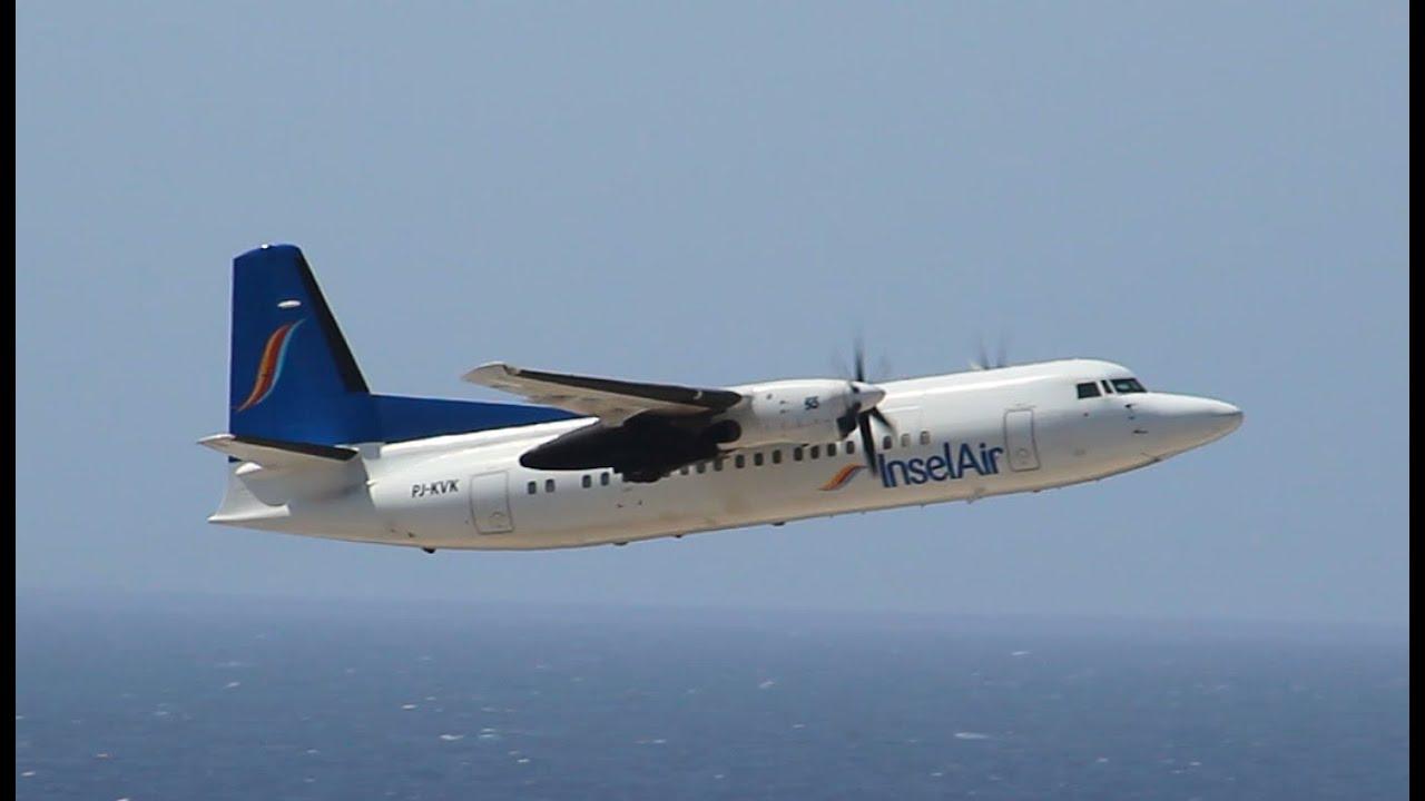 Resultado de imagen para Insel Air Fokker 50