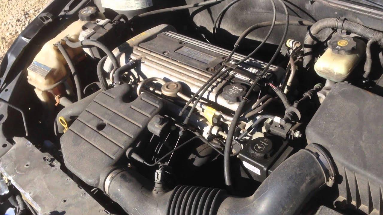 E4PN043 2004 Pontiac Grand Am 22 Engine Test  YouTube