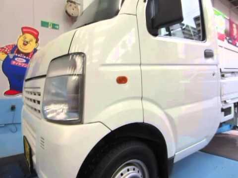 軽トラック・タイヤ交換・バランス調整 145R12 6PR R670 ブリヂストン。 タイヤホイール販売・整備・修理の専門店・専門工場 東京・八王子 ミスタータイヤマンTAIRA