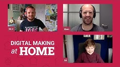 Chat with Eben Upton and making art with code - LIVE - Digital Making at Home