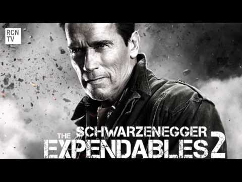 The Expendables 2 Schwarzenegger & Stallone Interview - Classic One Liners
