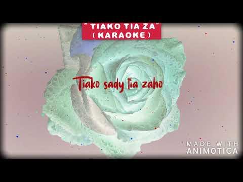WELVI WAVES - TIAKO TIA ZA ( VERSION KARAOKE )