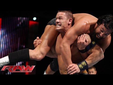 John Cena vs. Damien Sandow: Raw, Jan. 13, 2014