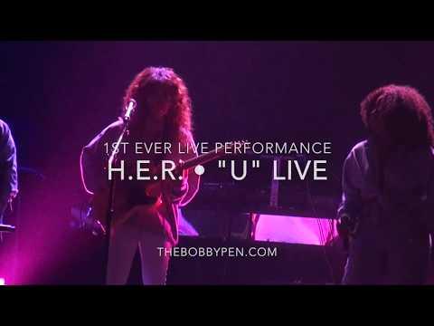H.E.R. Performs