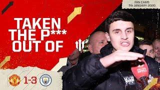 PURE EMBARRASSMENT! Man Utd 1-3 Man City Fan Cam