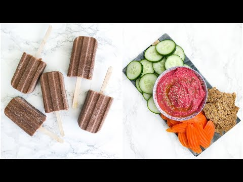 HEALTHY SNACK IDEAS YOU NEED TO TRY!