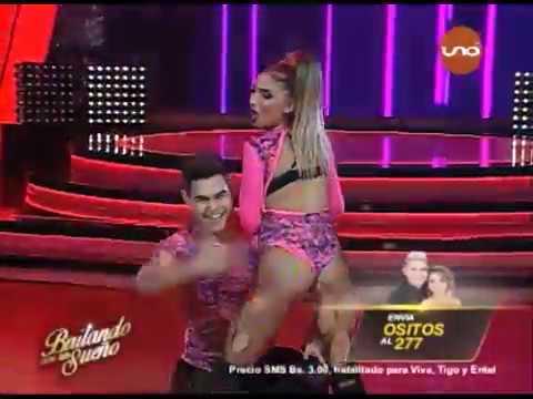 ¡Ositos; Nicol Salce y Carlos Gutierrez bailan #Reggaetón en la pista! #Bailando2017