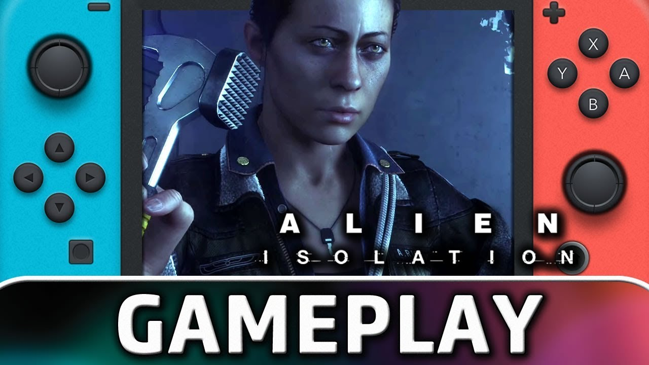 Alien: Isolation | First 40 Minutes on Nintendo Switch
