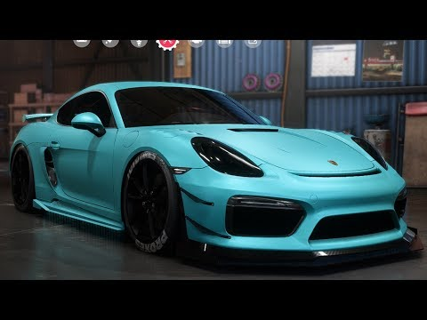 Need For Speed: Payback - Porsche Cayman GT4 - Customize | Tuning Car (PC HD) [1080p60FPS]