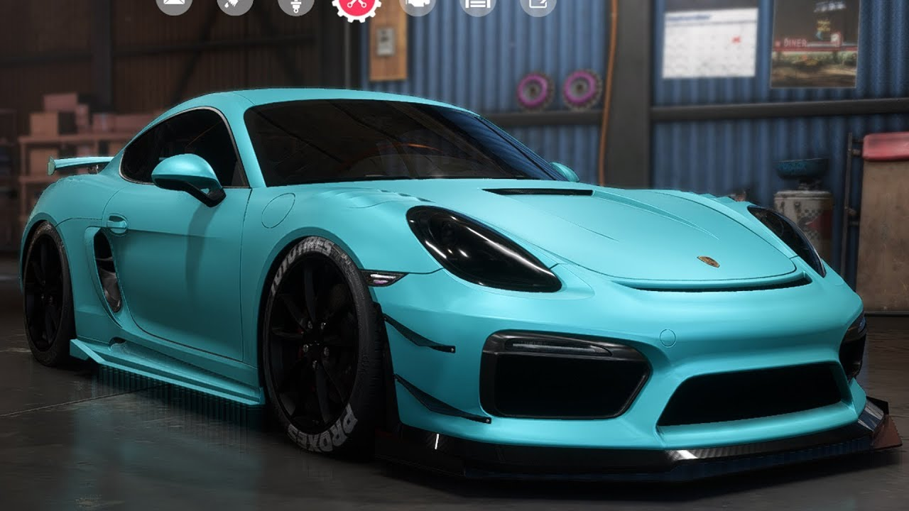 need for speed payback porsche cayman gt4 customize