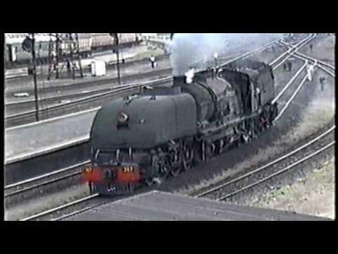 Garratt Steam Locomotives - Zimbabwe 1993