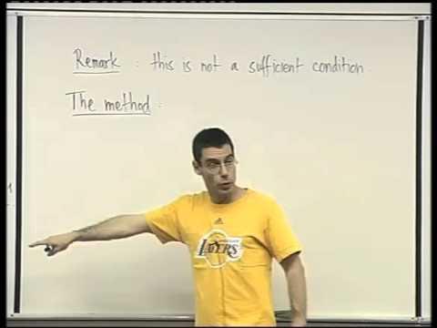 51 - The method of Lagrange multipliers