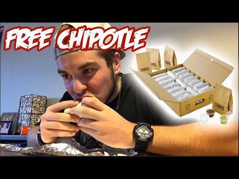 $240 IN FREE CHIPOTLE!!