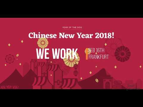 Chinese New Year 2018 Frankfurt