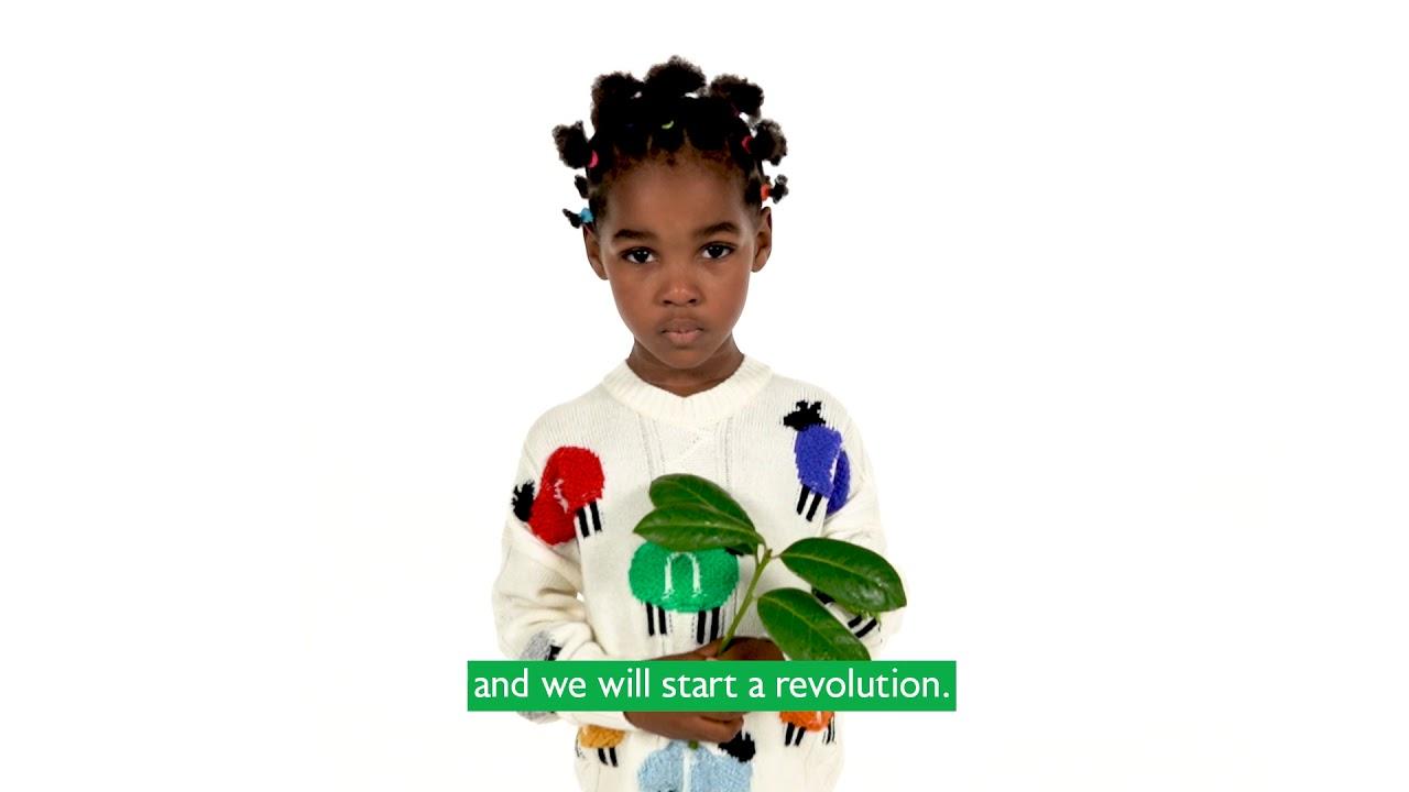 Go Green con Benetton y Treedom
