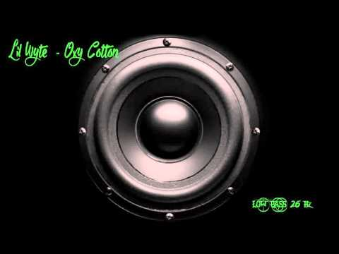 Lil Wyte  - Oxy Cotton [Low bass 26Hz ]