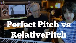 Perfect Pitch vs Relative Pitch:  Which Is More Important?
