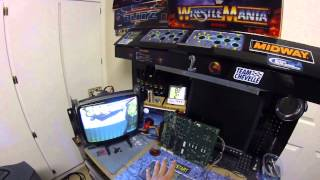 World Class Bowling Arcade PCB & Happ Trackball Demo
