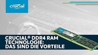 Crucial DDR4-Speichertechnologie