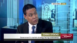 Anthony Chan of Chase on stock market of China