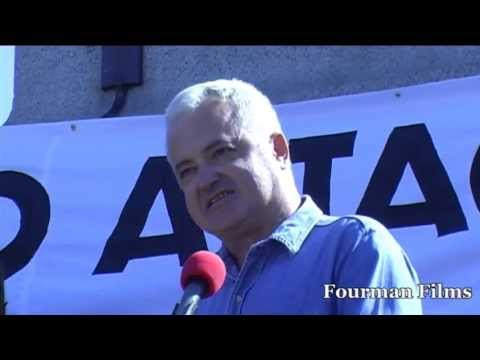 Andrew Murray Unite the Union National Demonstration No Attack on Syria Stop the War Coalition Londo
