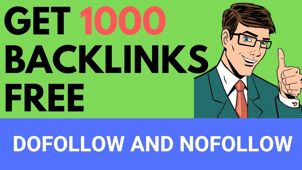 Backlink Generator Tool: Get 1000 Backlinks Free |Do-follow and No-follow|