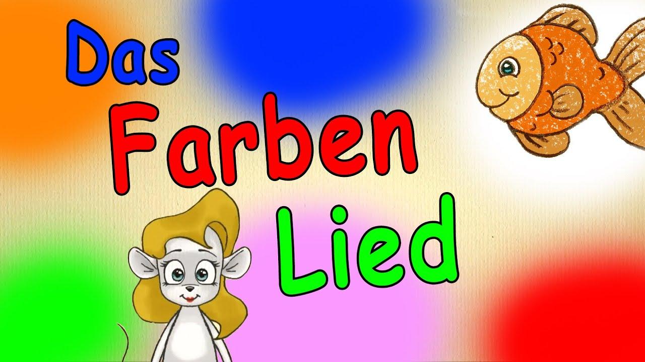 Farben lernen fr kleinkinder deutsch - Das Farbenlied ...
