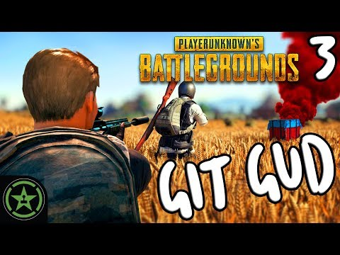 Let's Play - PUBG: Git Gud #3 - A Pocketful of Scopes
