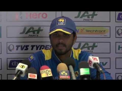 4th ODI Post Match Press Conference - Dinesh Chandimal & David Warner