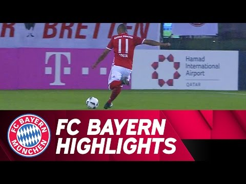 FC Bayern - KAS Eupen | Test Match Highlights | Doha 2017
