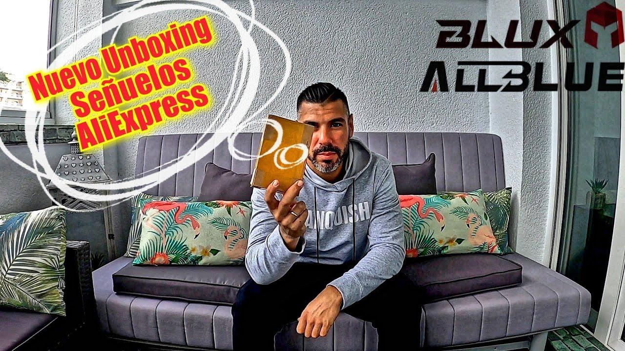 Unboxing Señuelos Allblue y Blux  para Rockfishing ( AliExpress )