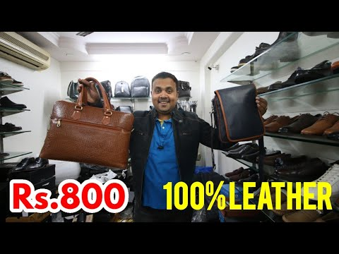 LEATHER JACKET,BELTS,WALLETS,BAGS/AGRA SHOES