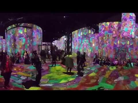 VIDEO 360 - Expo KLIMT : Fréquentation record pour l'Atelier des Lumiéres