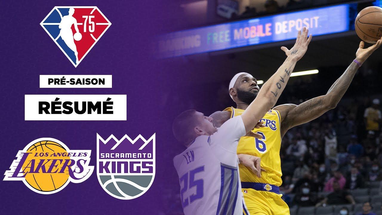 Download 🏀 Pré-saison NBA - Résumé long format : LeBron James en feu, mais nouvelle défaite pour les Lakers