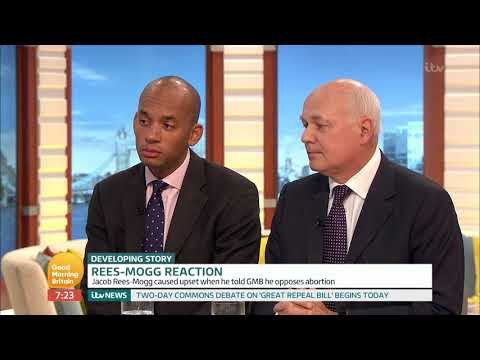 Former Conservative Leader Reacts to Jacob Rees-Mogg's Comments | Good Morning Britain