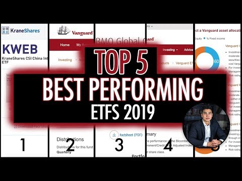 TOP 5 BEST PERFORMING ETFs To Buy (2019)