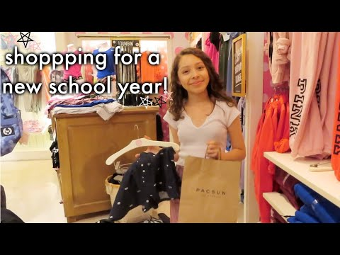 Back To School Clothes Shopping Vlog! 2019