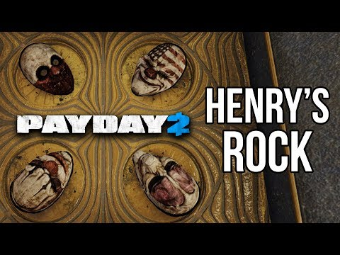 [Payday 2] New Heist - Henry's Rock (One Down)