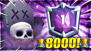 The Secret ULTIMATE CHAMPION Deck You NEED to LEARN!! Graveyard OP! Clash Royale Best Graveyard Deck