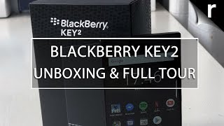 BlackBerry Key2 Unboxing & Tour | First BB of 2018!