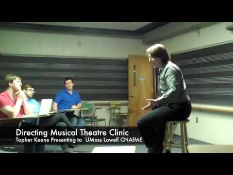 Directing Your First Musical with Topher Keene at UMass Lowell CNAfME