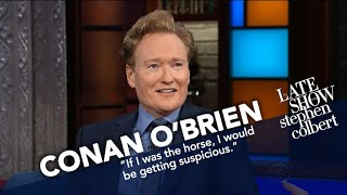 Conan O'Brien Didn't Ask David Letterman For A Horse