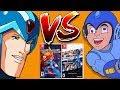 Megaman X VS Megaman Legacy Collections Nintendo Switch Versions