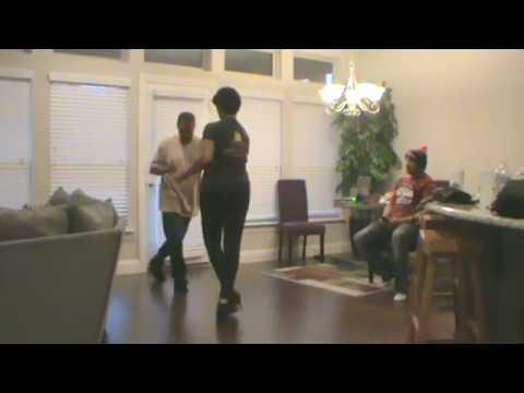 Tyk Man Ali and Lynita Mills  Chicago Steppin'  pt 2